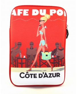 Housse zip St Tropez café by Mr. Z