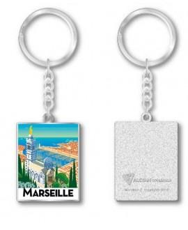 Porte Clef métal Marseille by Mr Z