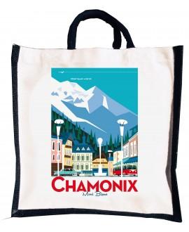 Sac coton / Jute Chamonix Ville Mr.z