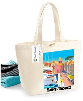 Sac coton Bio Port de St Tropez Mr.Z