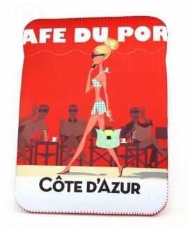 Housse 10p à rabat St Tropez café by Mr. Z