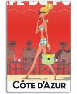 Planche verre St Tropez Café by Z