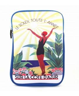 Housse zip Côte Azur PLM