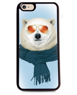 Coque Ours Fun au Ski