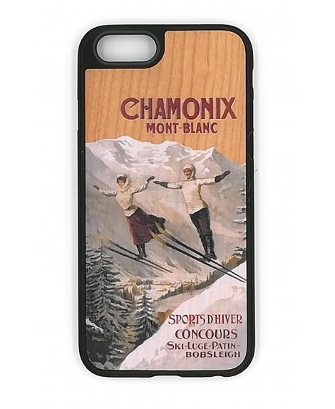 Coque en Bois Sports d'Hiver Chamonix Mont-Blanc