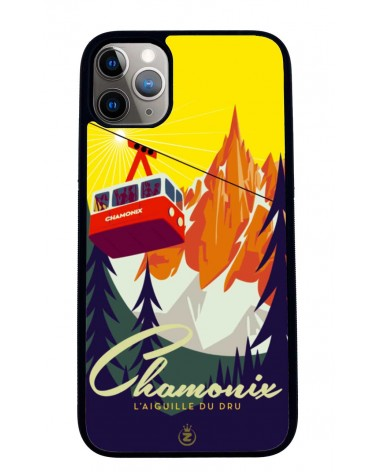Coque iPhone 11 Chamonix Aiguille du Dru, Mr Z