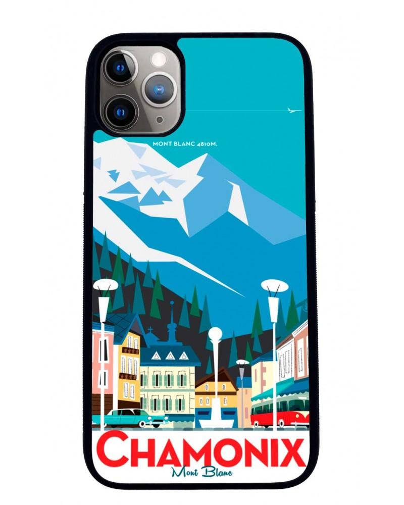 Coque iPhone 11 Chamonix Ville Mr Z
