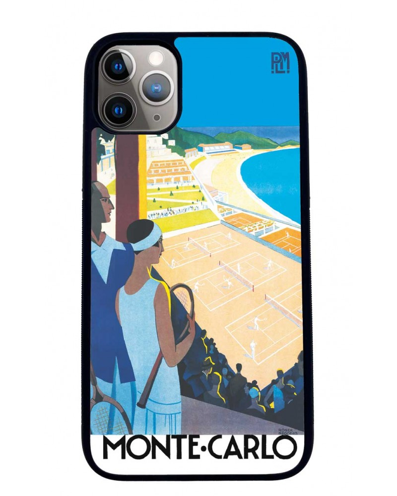 Coque iPhone 11 Monte Carlo Tennis PLM