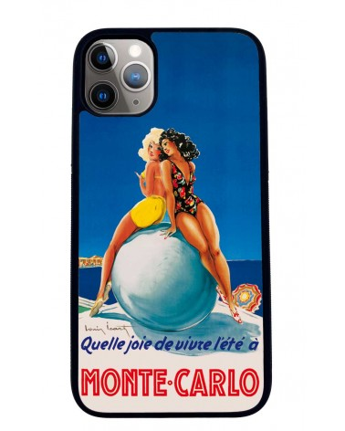 Coque iPhone 11 Qu'elle joie de vivre l'été à Monte Carlo