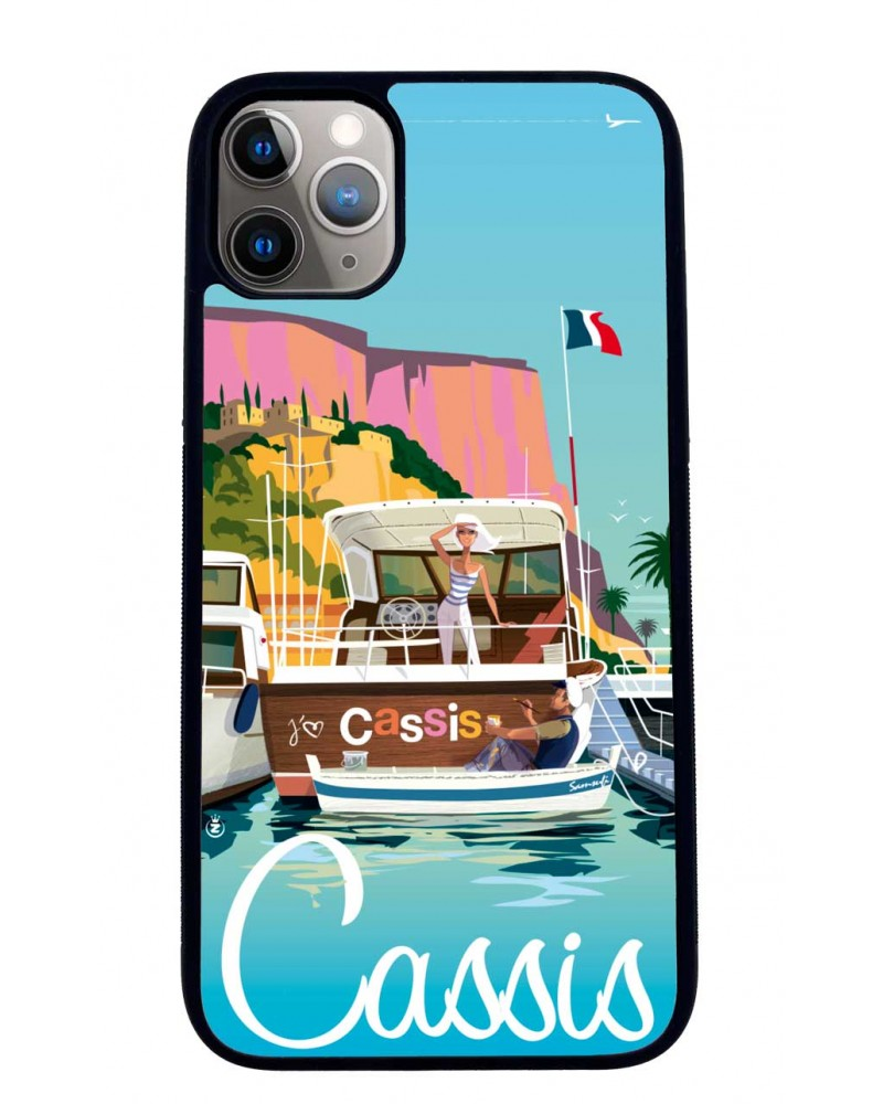 Coque iPhone 11 Cassis, Mr Z