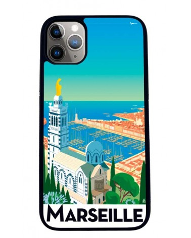 Coque iPhone 11 Marseille Mr z