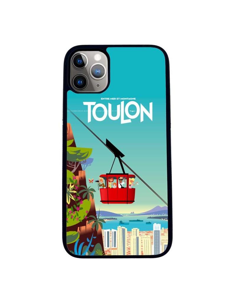 Coque iPhone 11 Toulon Téléphérique