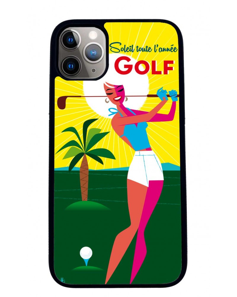 Coque iPhone 11 Golf Sunshine