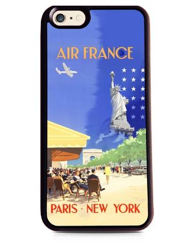 Coque iPhone 6 Air France Paris - NY