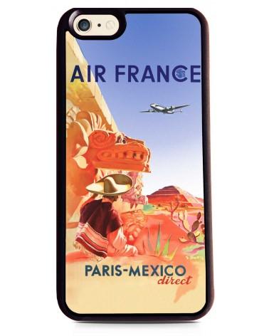 Coque iPhone 6 Air France Paris - Mexico
