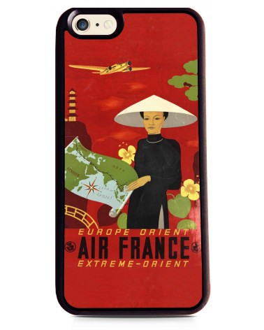Coque iPhone 6 Air France Paris - Extrême Orient