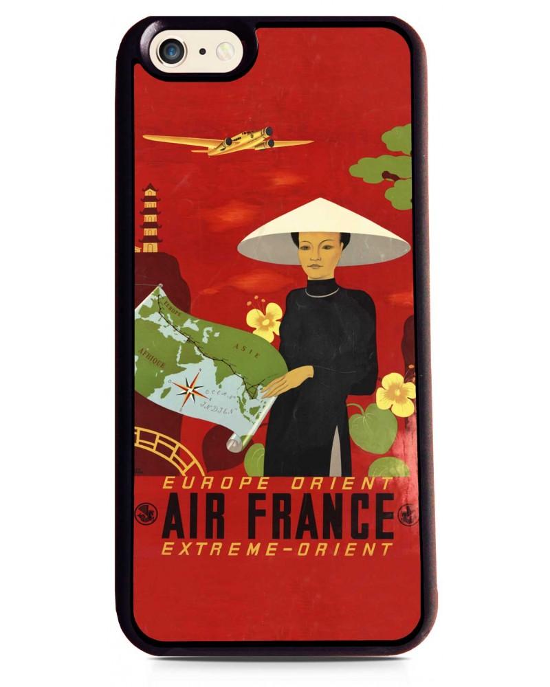 Coque iPhone 6 Air France Paris - Extrême Orient