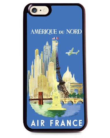 Coque iPhone 6 Air France Amérique du Nord