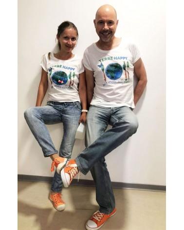 T shirt Antonia Terre-Happy